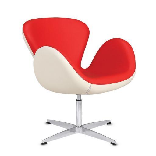 sillón de espera rojo
