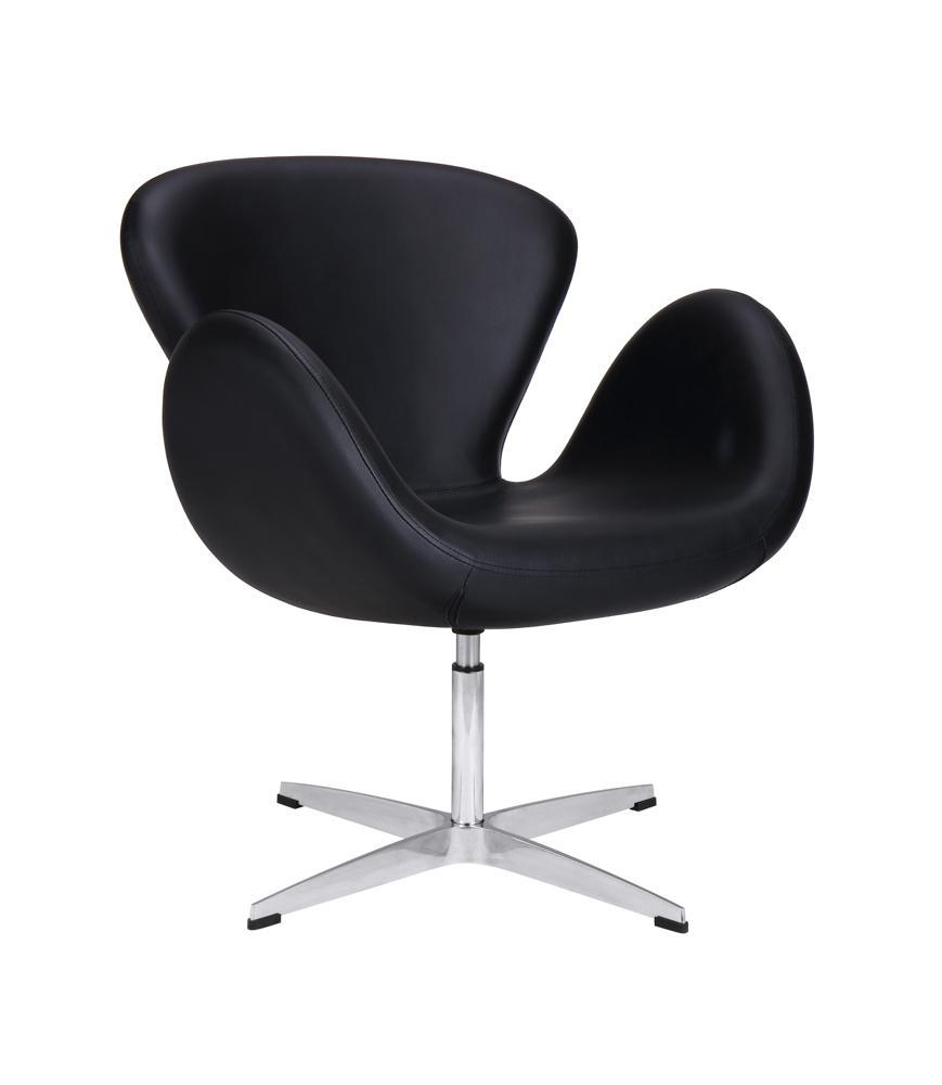 sillón de espera negro