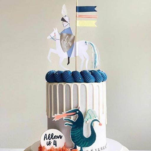 Cake Topper Caballero [2]