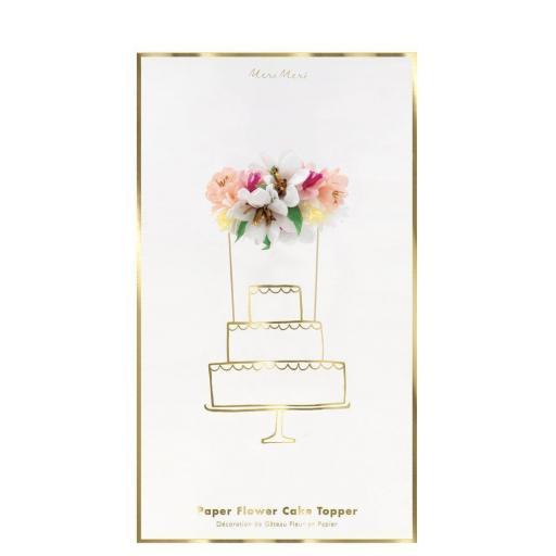 Cake Topper Flores [2]