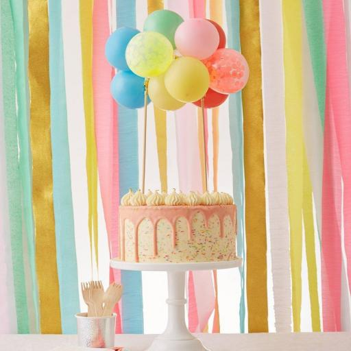 Cake Topper Globos [1]