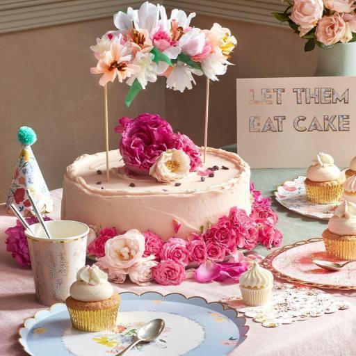 Cake Topper Flores [1]