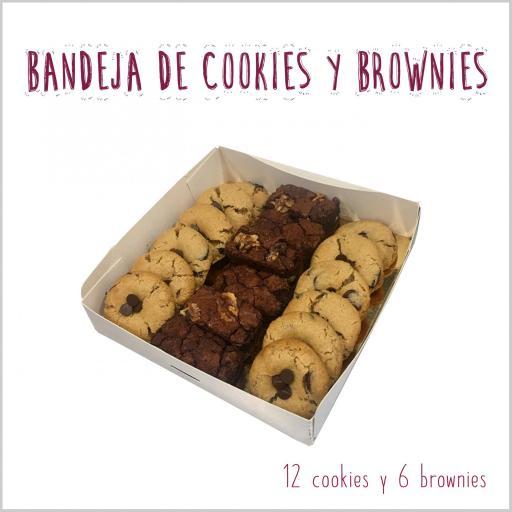 Bandeja de mini cookies & mini brownies [1]