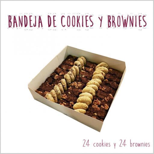 Bandeja de mini cookies & mini brownies [2]