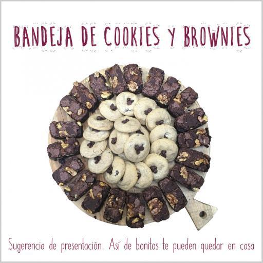 Bandeja de mini cookies & mini brownies [3]