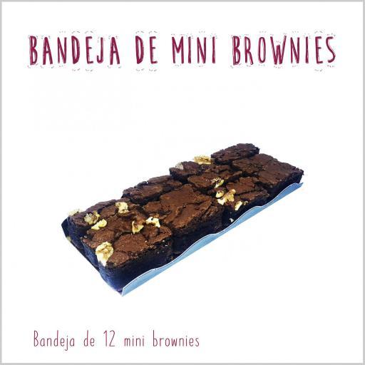 Bandeja de mini brownies [1]