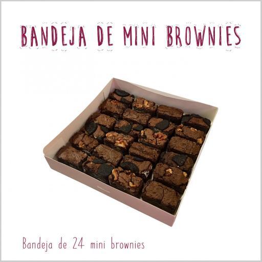 Bandeja de mini brownies [0]
