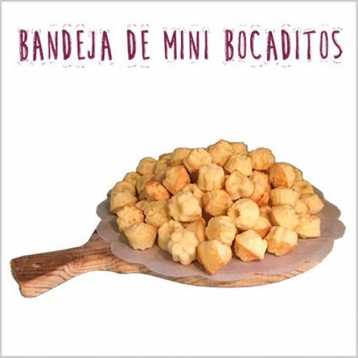 Bandeja de mini bocaditos