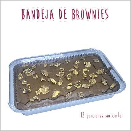 Bandeja de brownies
