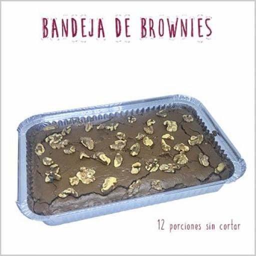 Bandeja de brownies