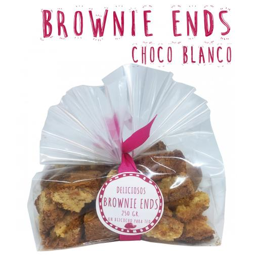 Brownie Ends Chocolate Blanco