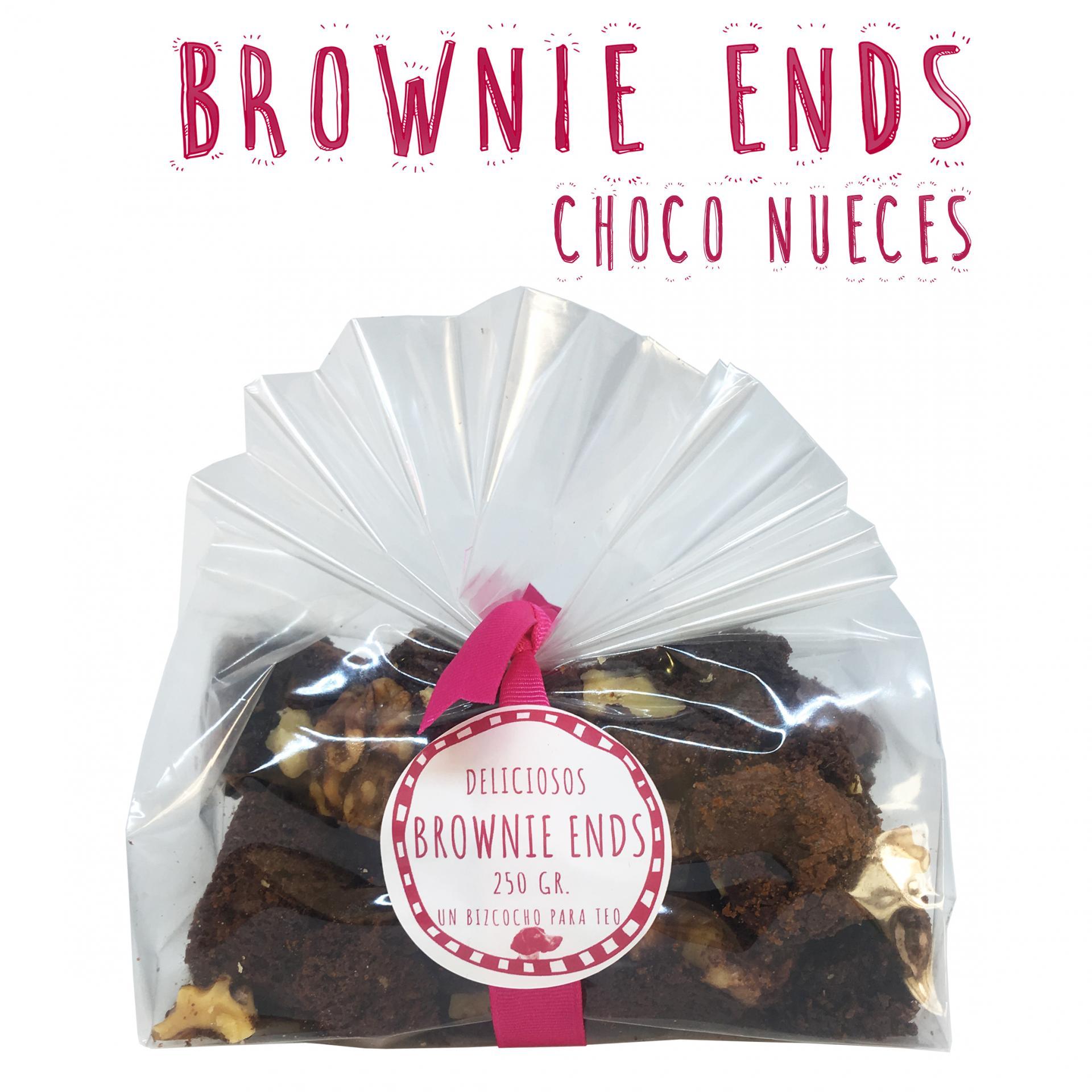 Brownie Ends Chocolate con Nueces