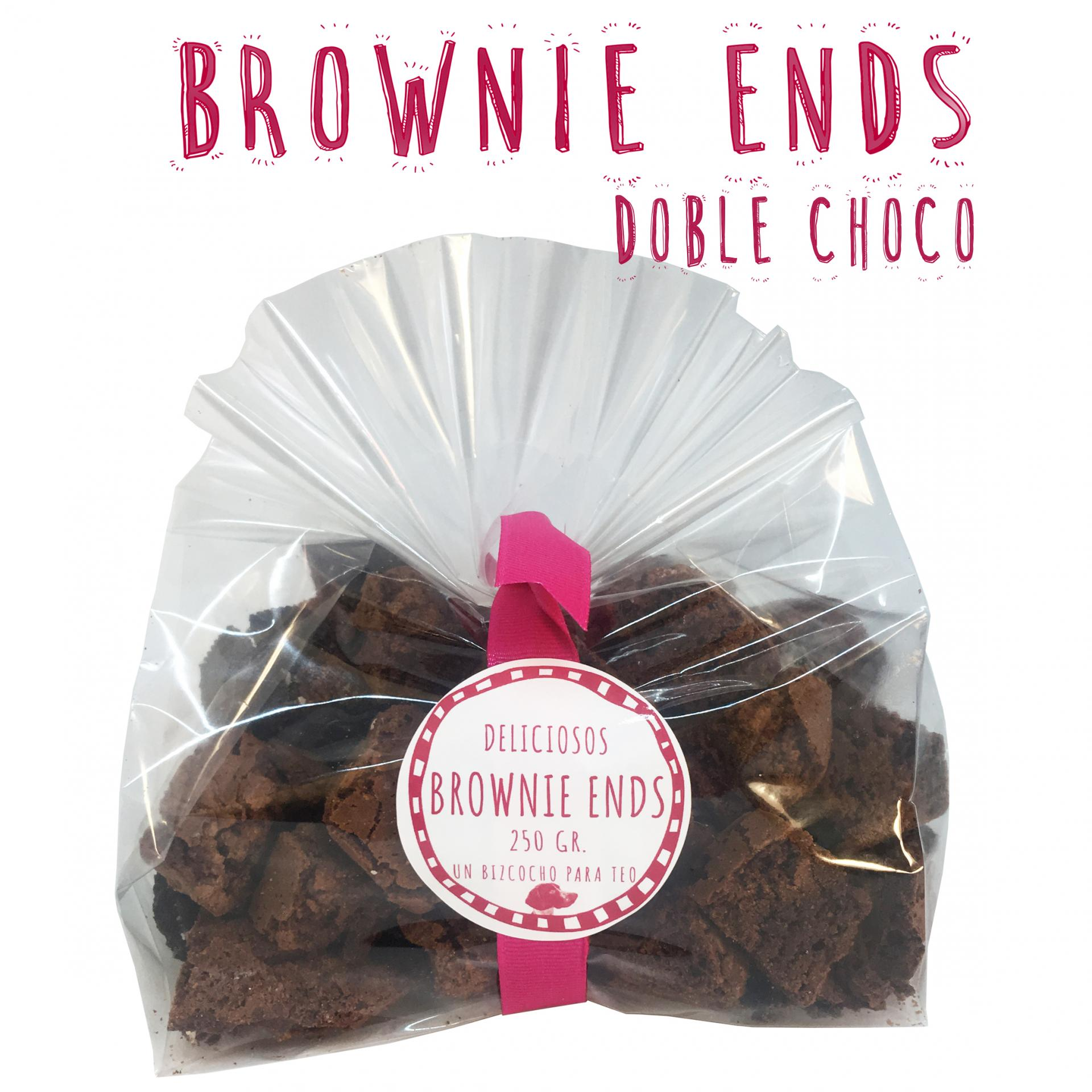 Brownie Ends Doble Chocolate