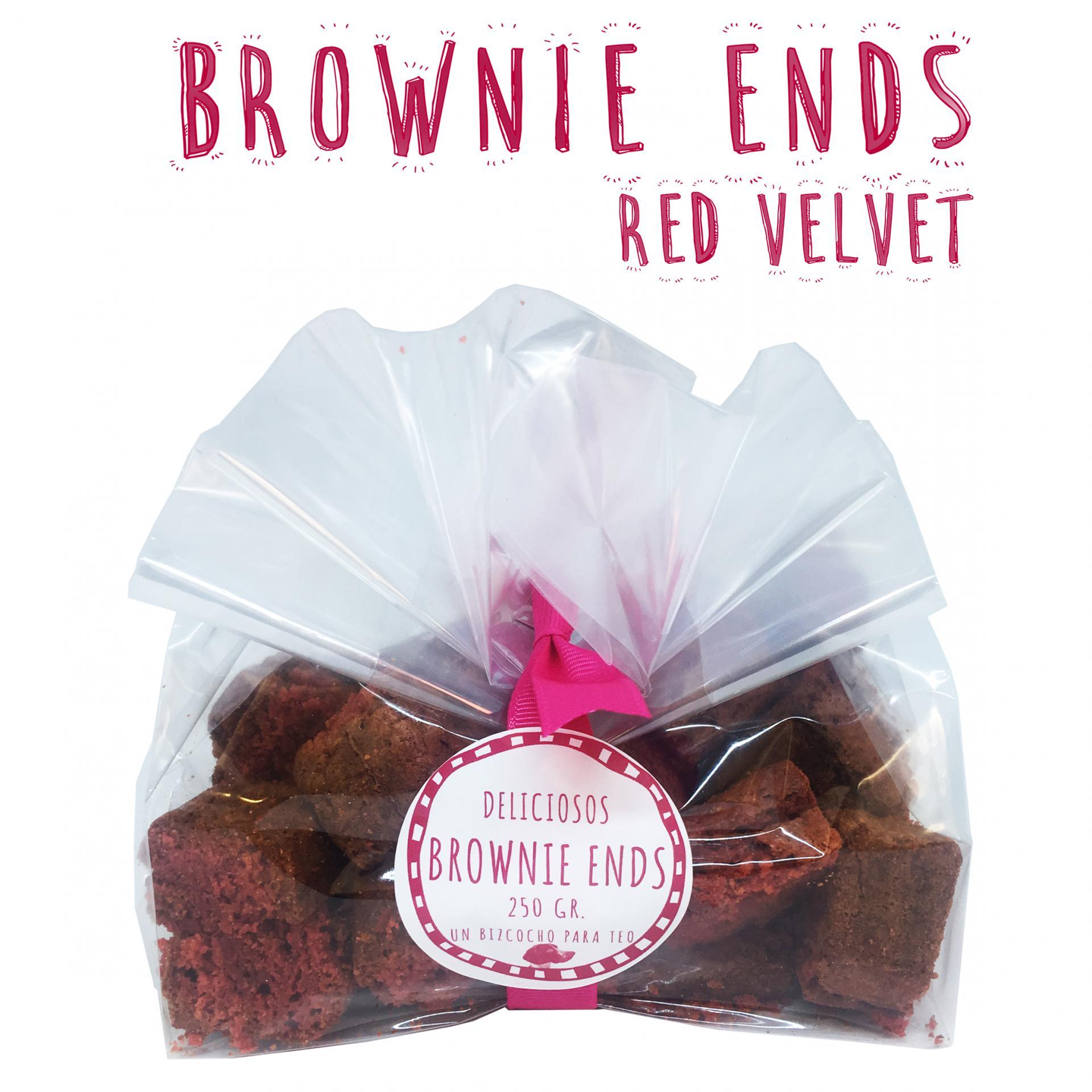Brownie Ends Red Velvet