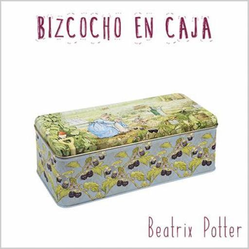 Bizcocho en caja Beatrix Potter