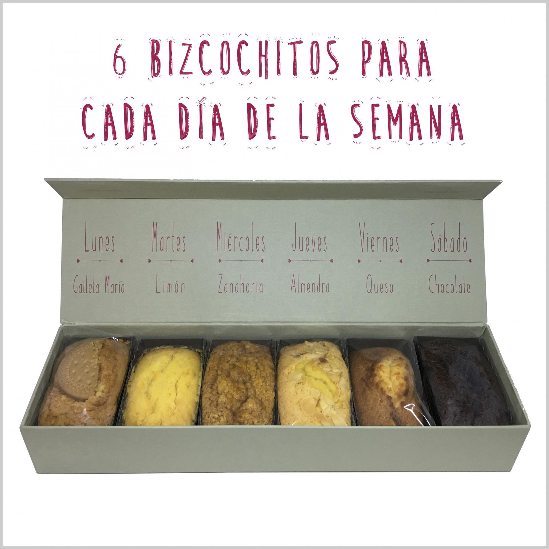 Caja de bizcochitos semanal