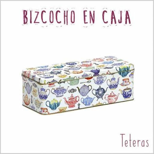 Bizcocho en caja Teteras [1]