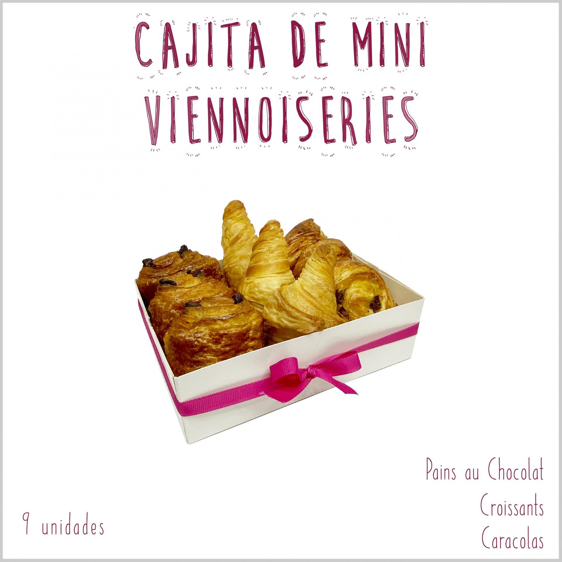 Cajita 9 Mini Viennoiseries