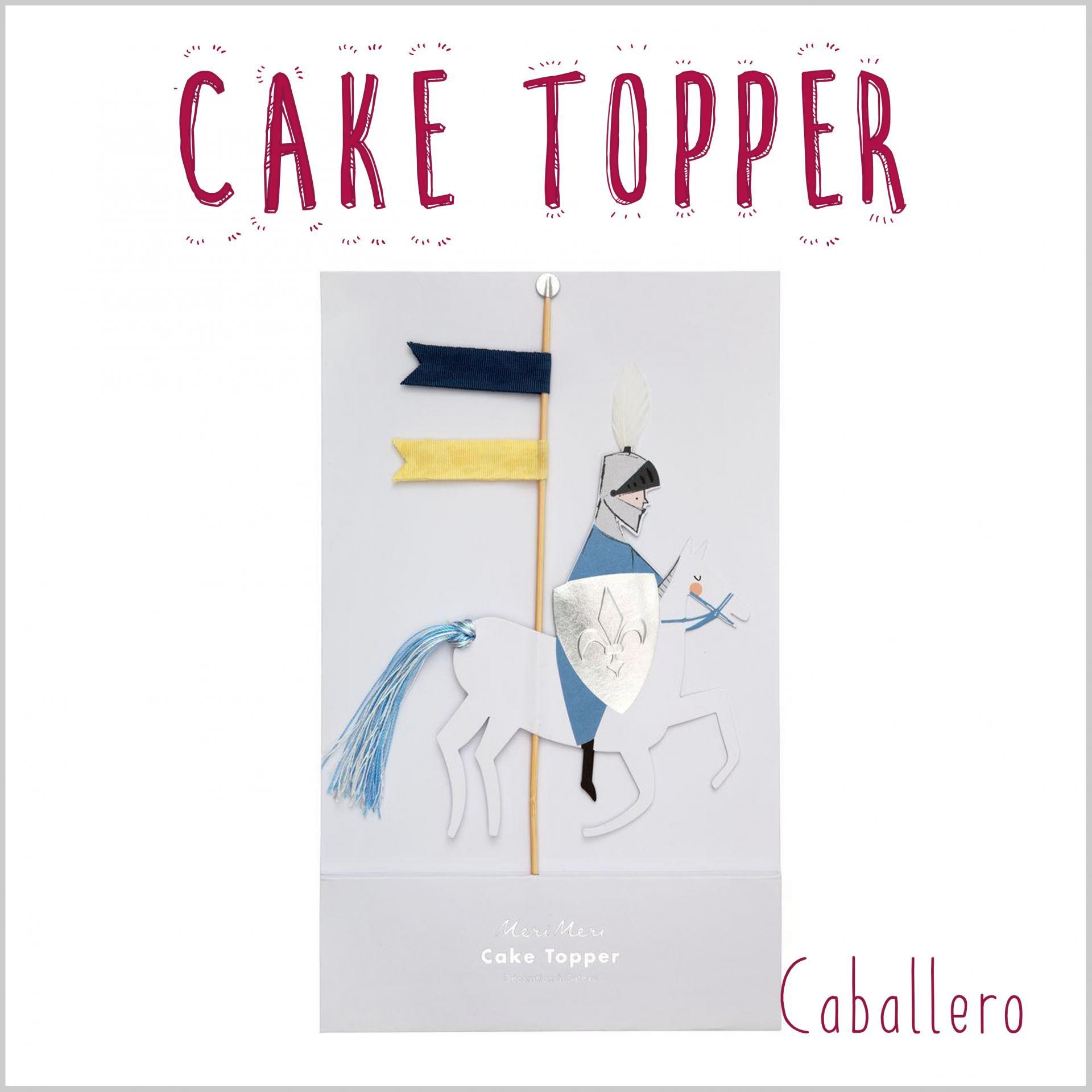 Cake Topper Caballero