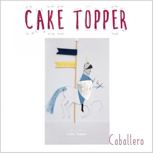Cake Topper Caballero [0]