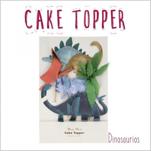 Cake Topper Dinosaurios [1]