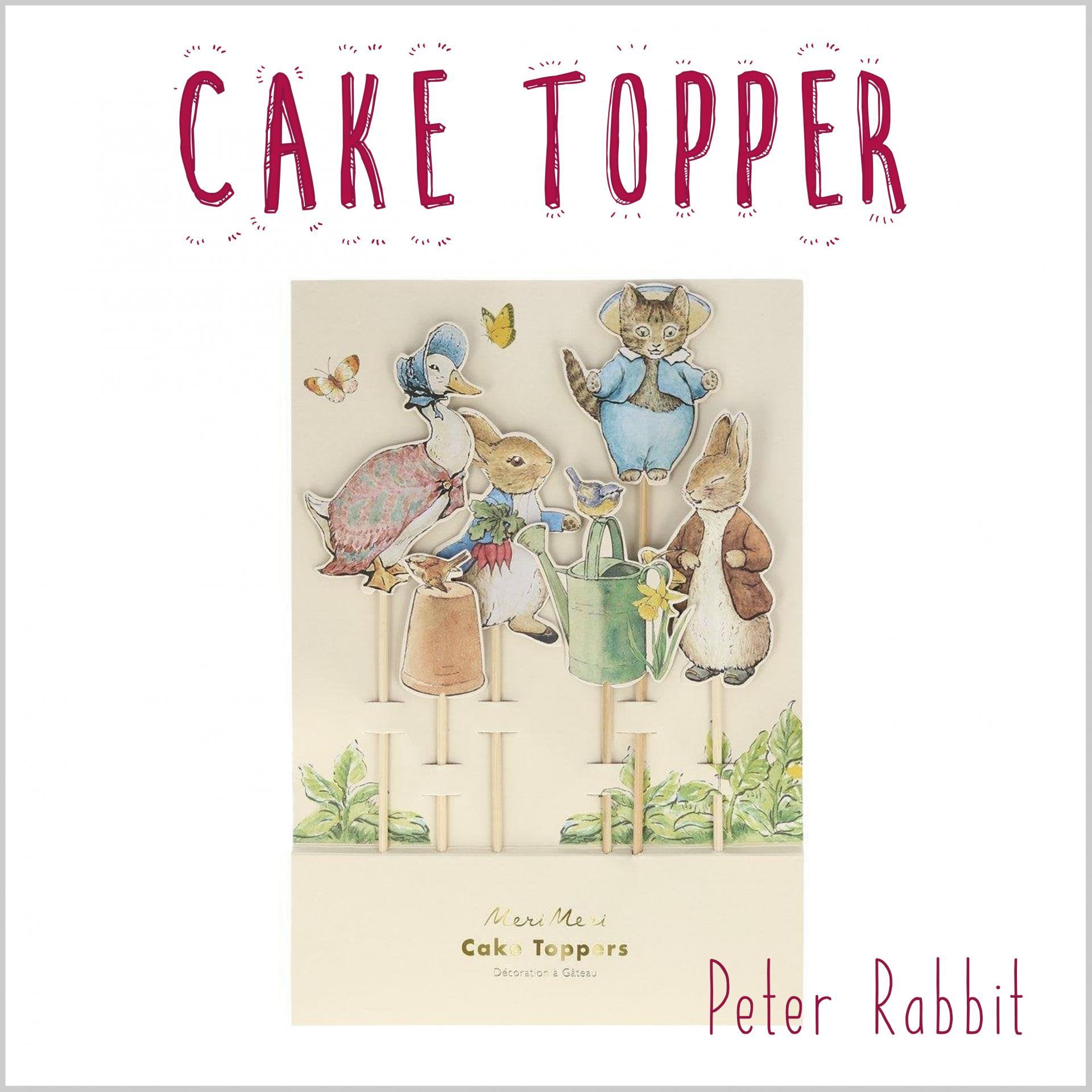 Cake Topper Peter Rabbit