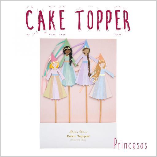 Cake Topper Princesas