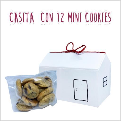 Casita con 12 mini cookies [1]