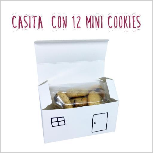 Casita con 12 mini cookies [2]