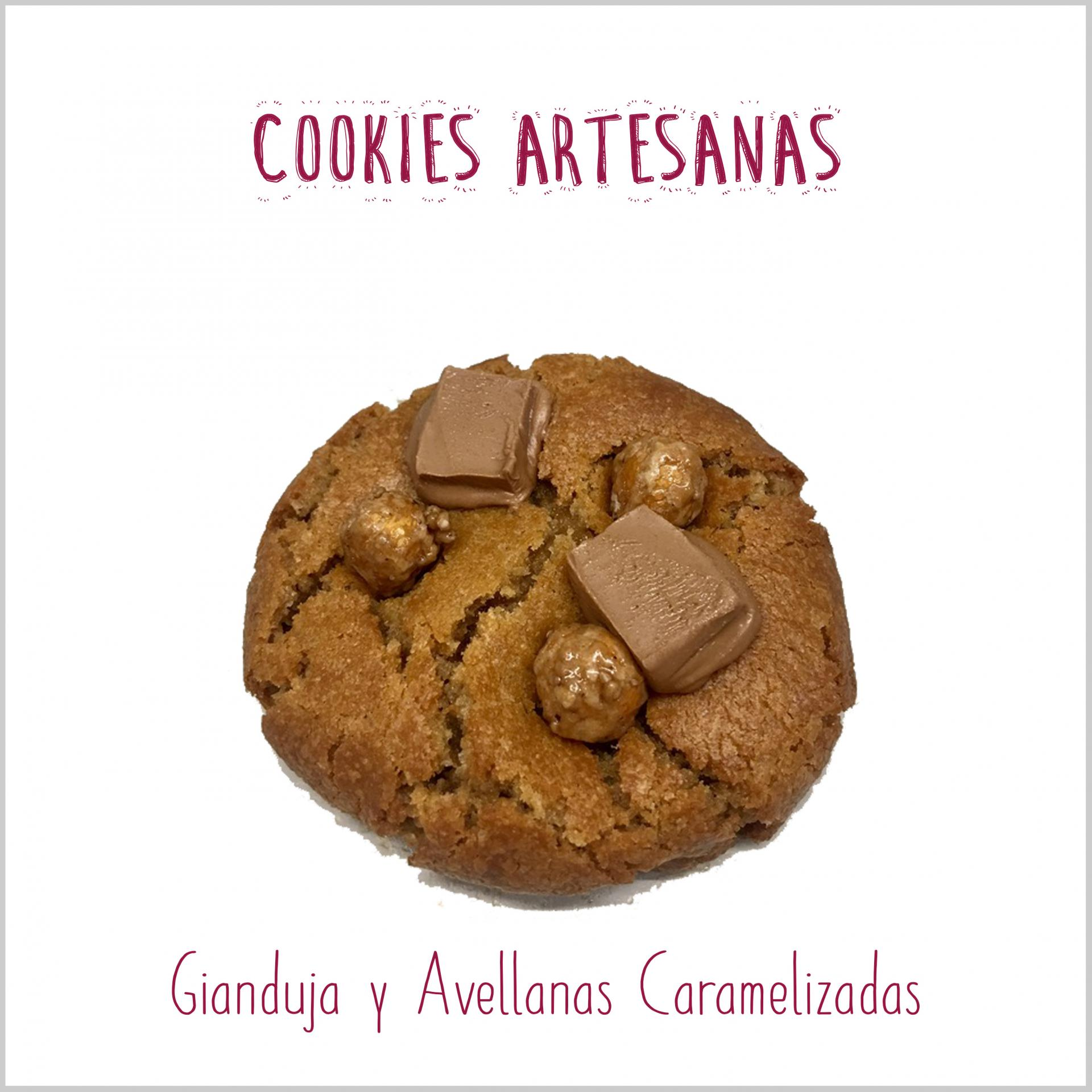 Gianduja y Avellanas Caramelizadas