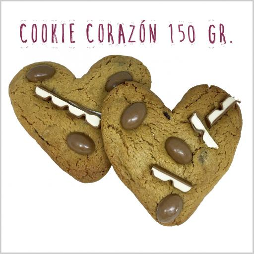 Heart Choc Chip Cookie 150 gr.