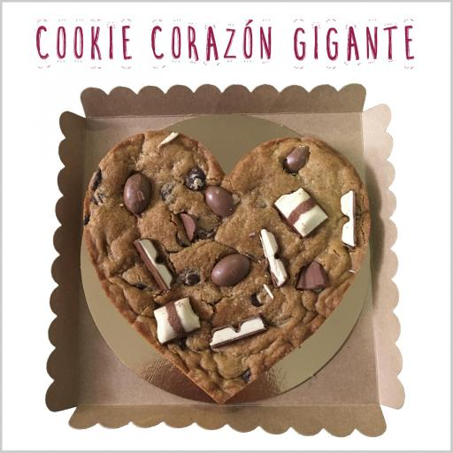 Heart Choc Chip Cookie [1]