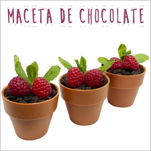 Maceta de Chocolate
