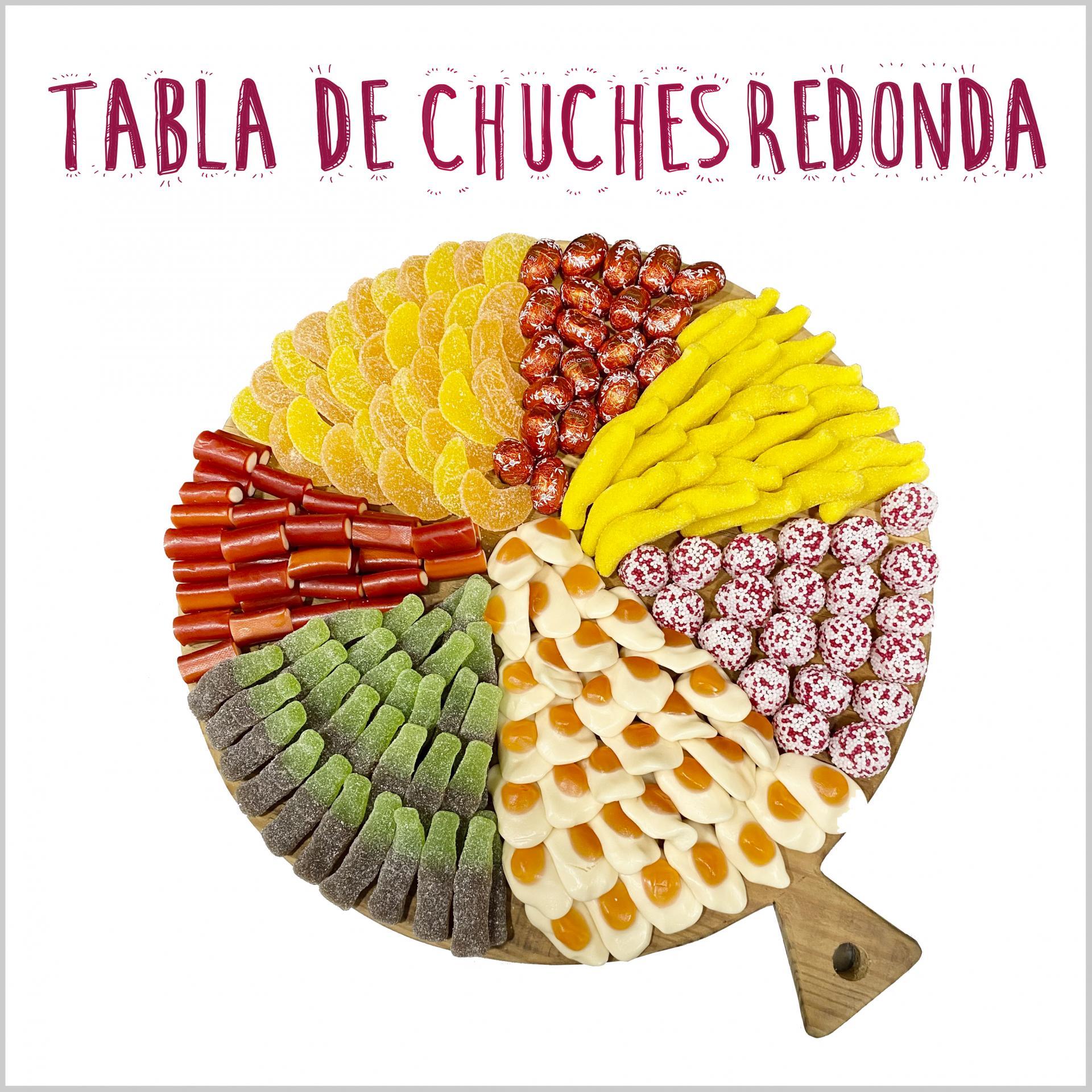 Tabla de Chuches Redonda
