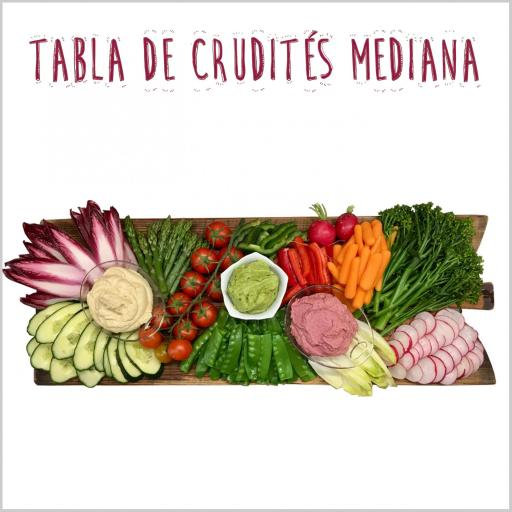 Tabla de Crudités Mediana