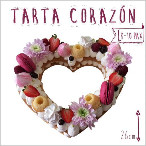 Tarta Corazón L