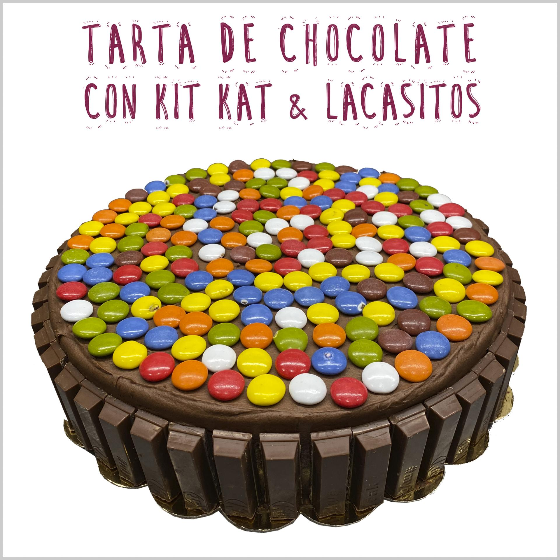 Chocolate con Kit Kat & Lacasitos