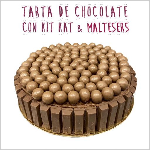 Chocolate con Kit Kat & Maltesers
