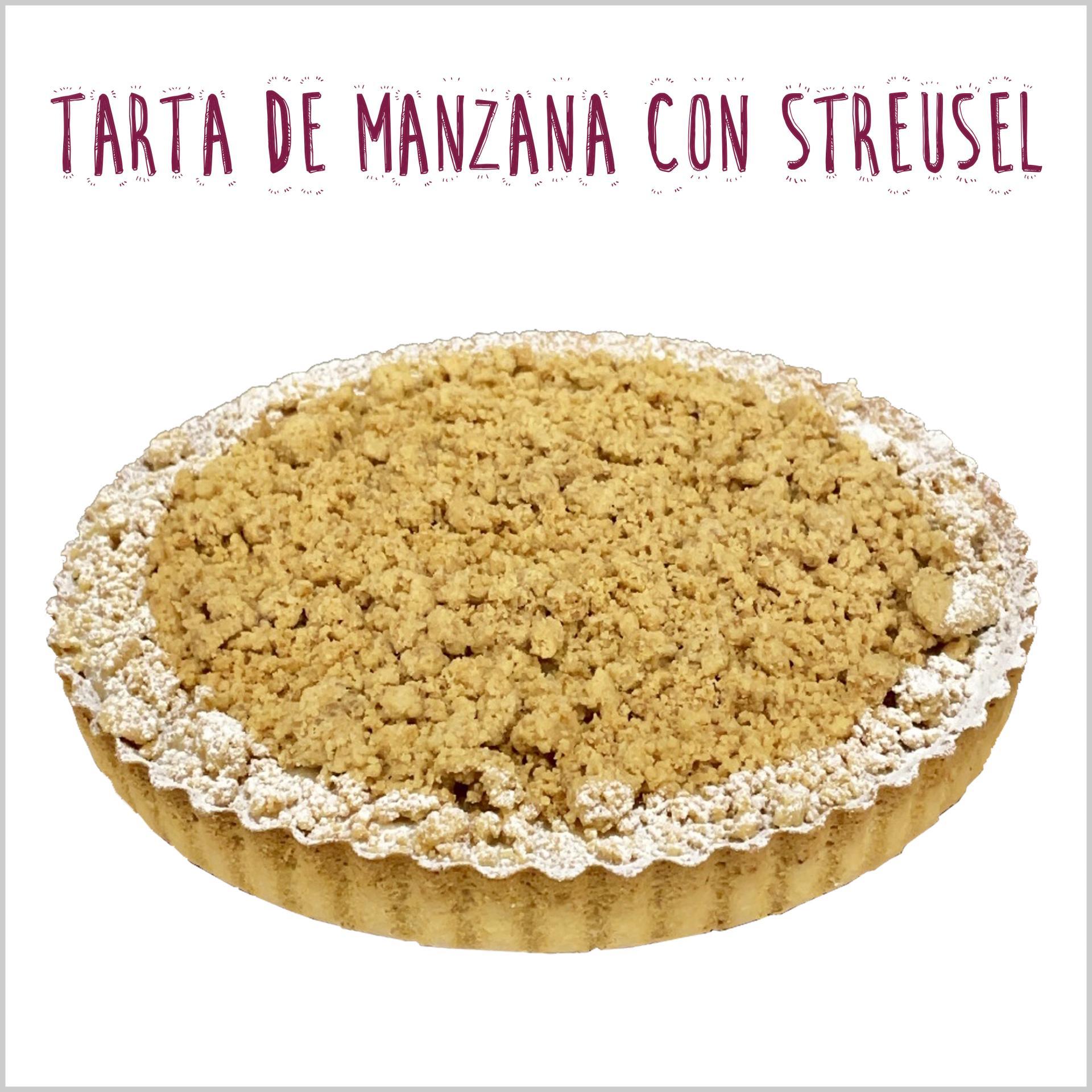 Manzana con Streusel