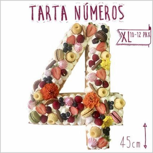 Tarta Números  XL [1]