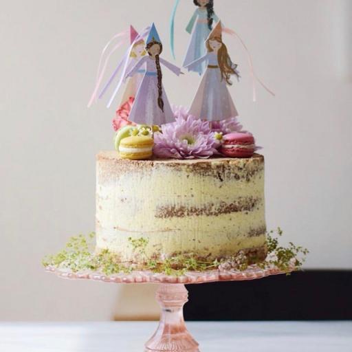Cake Topper Princesas [1]