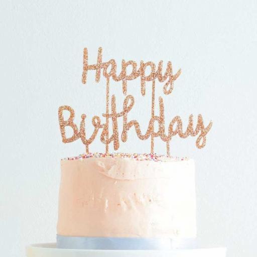Cake Topper Happy Birthday [1]