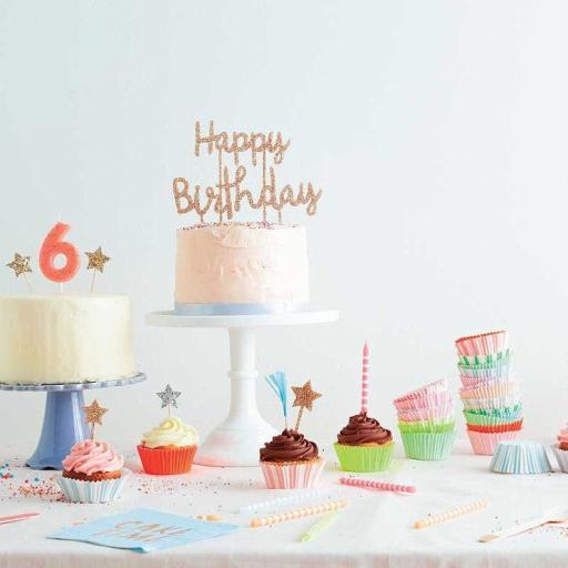 Cake Topper Happy Birthday [2]