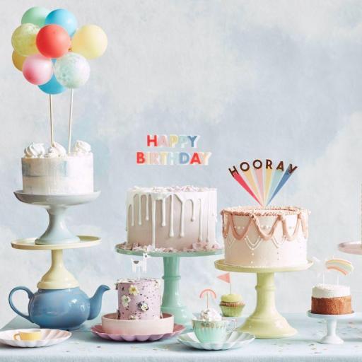 Cake Topper Hooray [2]