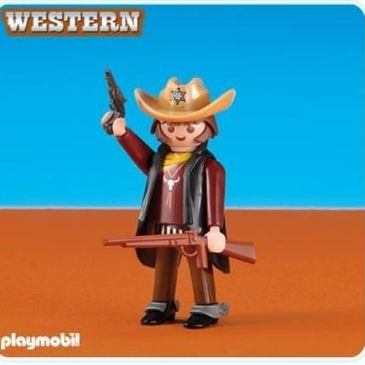 PLAYMOBIL 6277 SHERIFF OESTE WESTERN