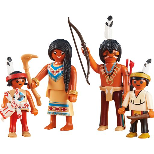PLAYMOBIL 6322 FAMILIA INDIA