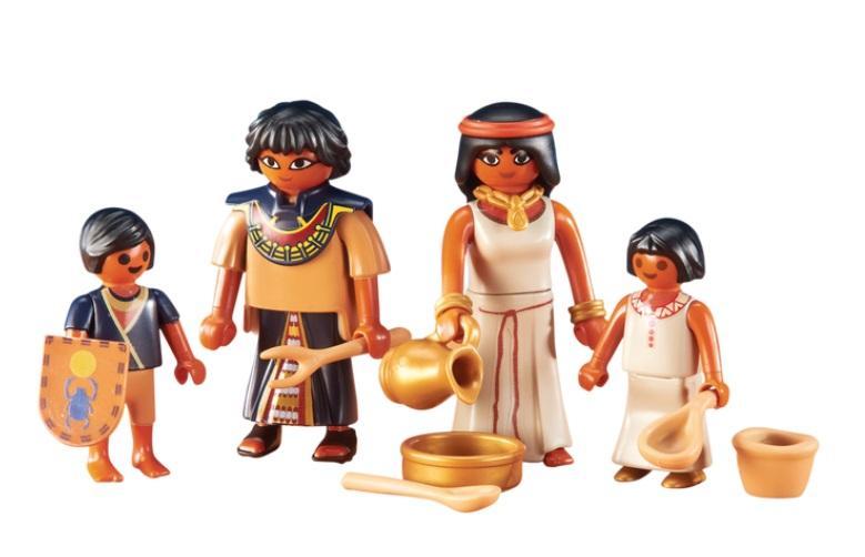 PLAYMOBIL 6492 FAMILIA EGIPCIA