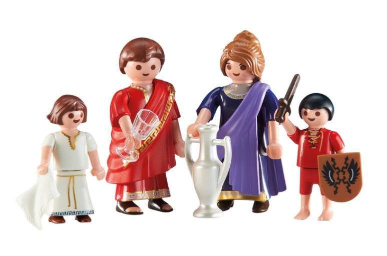 PLAYMOBIL 6493 FAMILIA ROMANA
