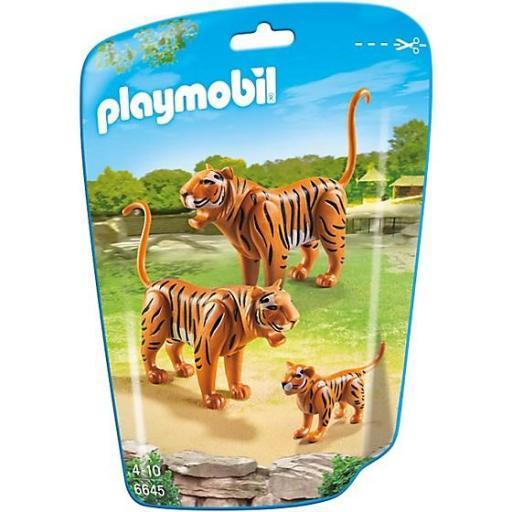 PLAYMOBIL 6645 FAMILIA DE TIGRES
