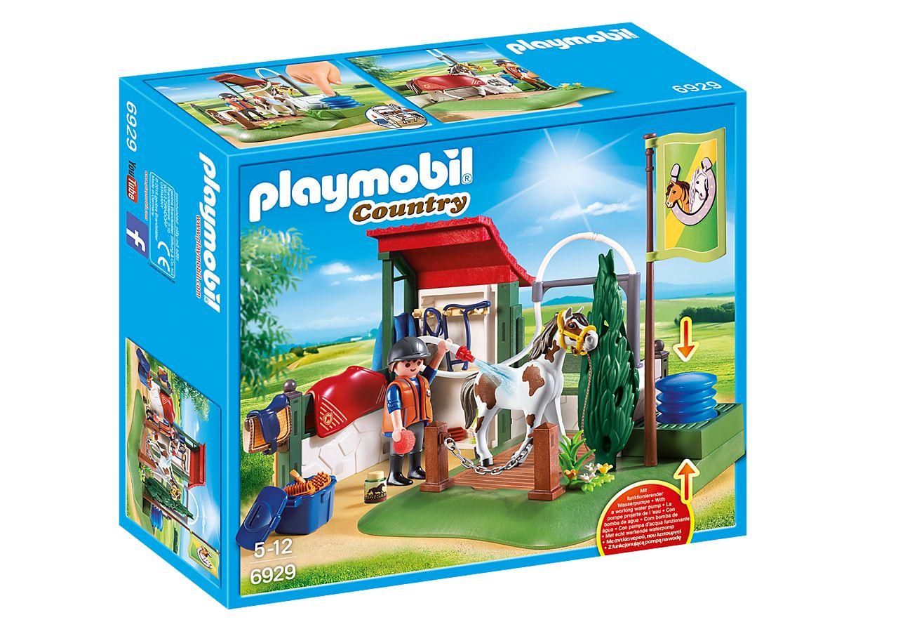 PLAYMOBIL 6929 SET DE LIMPIEZA PARA CABALLOS